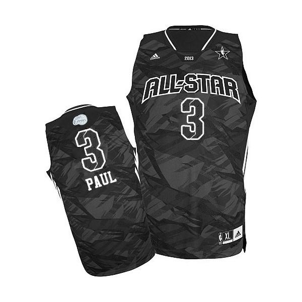 NBA Chris Paul Swingman Hommes Noir Maillot - Adidas Los ...